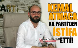 Ak Parti Eski İl Başkanı Kemal Atmaca Ak Parti'den İstifa Etti!