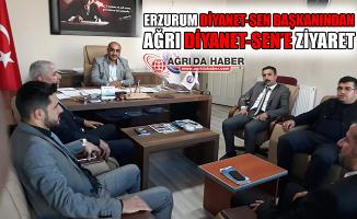 Erzurum Diyanet-Sen Başkanından Ağrı Diyanet-Sen'e Ziyaret!