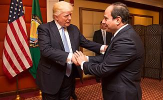 Trump, Sisi için 'Nerede benim diktatörüm'