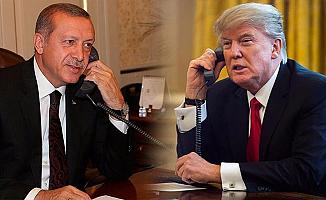 Cumhurbaşkanı Erdoğan Trump ile konuştu!