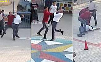 İki Oğluyla Öğretmene Öldüresiye Dayak