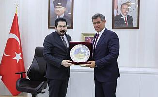 TBB Başkanı Metin Feyzioğlu'ndan Savcı Sayan'a Ziyaret