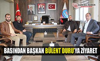 Ağrı Basınından Başkan Bülent Duru'ya ziyaret
