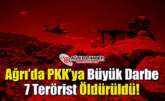 Ağrı'da Terör Örgütü PKK'ya Büyük Darbe!