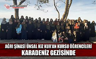 Ağrı Müftülüğünden Hafızlık Eğitimi Gören Öğrencilere Karadeniz Gezisi