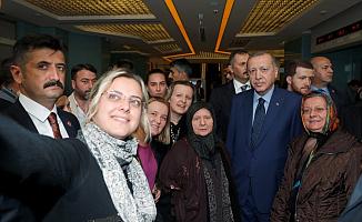 Cumhurbaşkanı Recep Tayyip Erdoğan'dan Eski Bakana Ziyaret