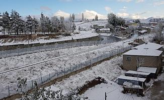 Erzurum'a Yılın İlk Karı Yağdı!