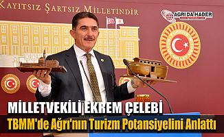 Milletvekili Çelebi, TBMM'de Ağrı'nın Turizm Potansiyelini Anlattı