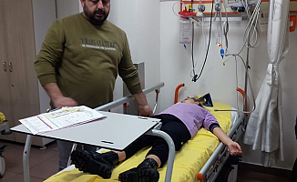 Öğretmen Öğrenciyi hastanelik etti!