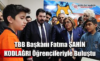 TBB Başkanı Fatma Şahin Kodlağri Öğrencilerini Ziyaret Etti