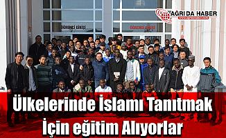 Ülkelerinde İslamı Tanıtmak İçin eğitim Alıyorlar!