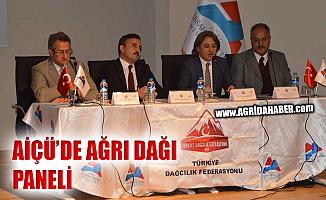 11 Aralık Uluslararası Dağ Gününde Ağrı Dağı Paneli