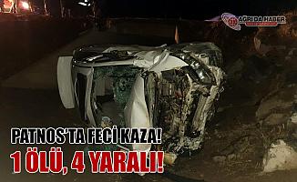 Ağrı Patnos'ta Trafik Kazası! 1 Çocuk Öldü 4 Kişi Yaralandı