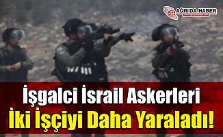 İşgalci İsrail Askerleri İki Filistinli askeri Daha Yaraladı!