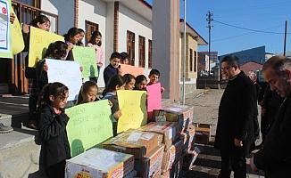 TaşlıçayKaymakamı Murtaza Ersöz'ün Kütüphane Projesine Büyük İlgi