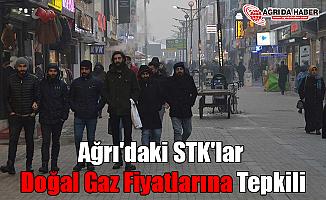 Ağrı'daki STK'lar Doğal Gaz Fiyatlarına Tepkili