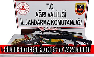 Ağrı Patnos'ta Silah Ticareti Yapan Kişi Yakalandı!