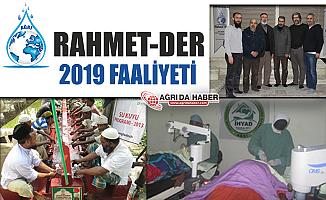 Ağrı Rahmet-Der 2019 faaliyet raporunu açıkladı