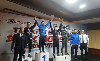 Ağrı'lı Kick Boksçulardan 4 Madalya