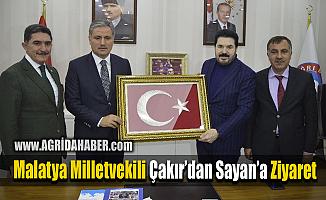 Ak Parti Malatya Milletvekili Ahmet Çakır'dan Savcı Sayan'a Ziyaret