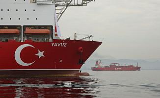 Yavuz sondaj gemisinden Açıklama!