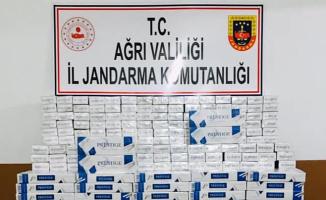 Ağrı'da 798 karton kaçak sigara ele geçirildi