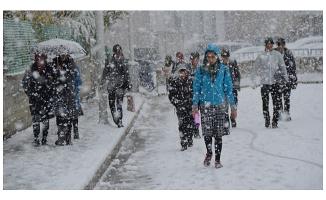 Ağrı Diyadin'de Okullara Kar Tatili