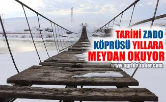 Ağrı Zado Köyü Köprüsü Yıllara Meydan Okuyor!