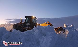 Ağrı'da 179 köy yolu ulaşıma kapalı
