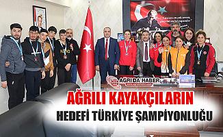 Ağrı'lı Kayakçıların Hedefinde Türkiye Şampiyonluğu Var