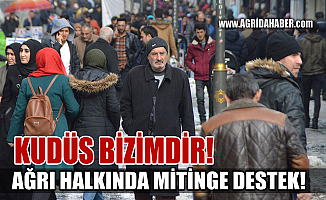 Ağrılılardan ihanet planına tepki Diyarbakır mitingine destek
