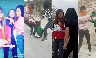 Denizli'de 3 kız çocukları, öldüresiye dövdü!
