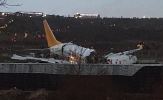 Sabiha Gökçen Havalimanın'da Akıl Almaz Kaza! Uçuşlar Yönlendirildi