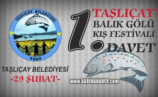 Taşlıçay Belediyesinden 1.Balıkgöl Kış Festivaline Davet