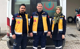 Ağrı Diyadin'de Taksicilerden sağlık çalışanlarına destek