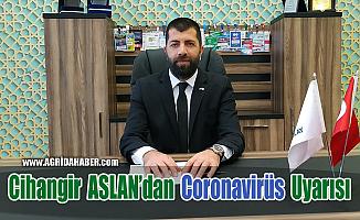 Cihangir ASLAN'dan Sigara içenlere Coronavirüs Uyarısı