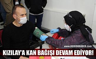 Ağrı İl Milli Eğitim Müdürü Mehmet Faruk Tekin'den Kızılay'a kan bağışı