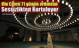Ağrı Ulu Camii 71 günün ardından sessizlikten kurtuluyor