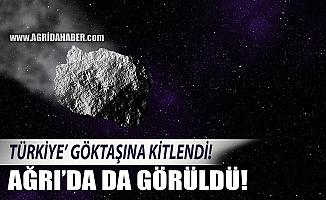 Ağrı'ya Göktaşımı Düştü! Türkiye Göktaşına kitlendi