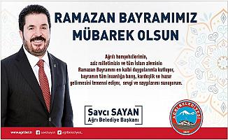 Başkan Savcı Sayan'ın Ramazan Bayramı Mesajı