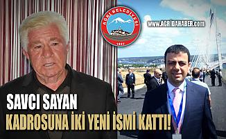 Savcı Sayan'dan Belediye Başkan Yardımcılığına 2 Yeni İsim