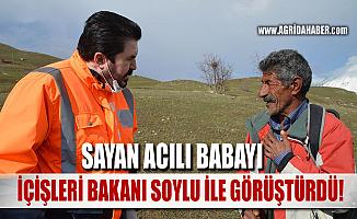 Savcı Sayan, Oğlu PKK tarafından kaçırılan Babayı Bakan Soylu ile görüştürdü
