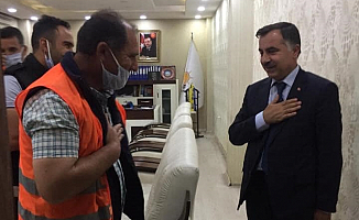 Abbas Aydın; Vatandaşların Sorunlarını Dinlemeye Devam Ediyor