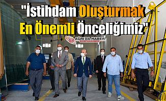 Ağrı Valisi Dr. Osman Varol: İstihdam Oluşturmak En Önemli Önceliğimiz