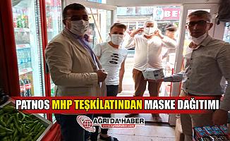 Patnos MHP Teşkilatı Maske Dağılttı