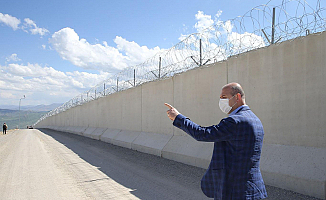 Süleyman Soylu Ağrı-İran sınırını İnceledi
