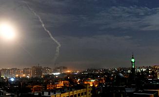 Suriye'ye Yeniden hava saldırısı