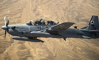 Afganistan'da uçağın pilotu ABD askeri çıktı