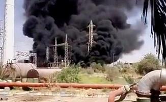 İran'da Elektrik Santralinde Patlama Meydana Geldi