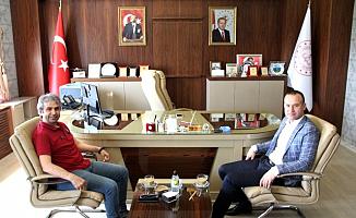 Kırıkkale Milli Eğitim Müdürü'nden Ağrı Milli Eğitim Müdürü'ne ziyaret
